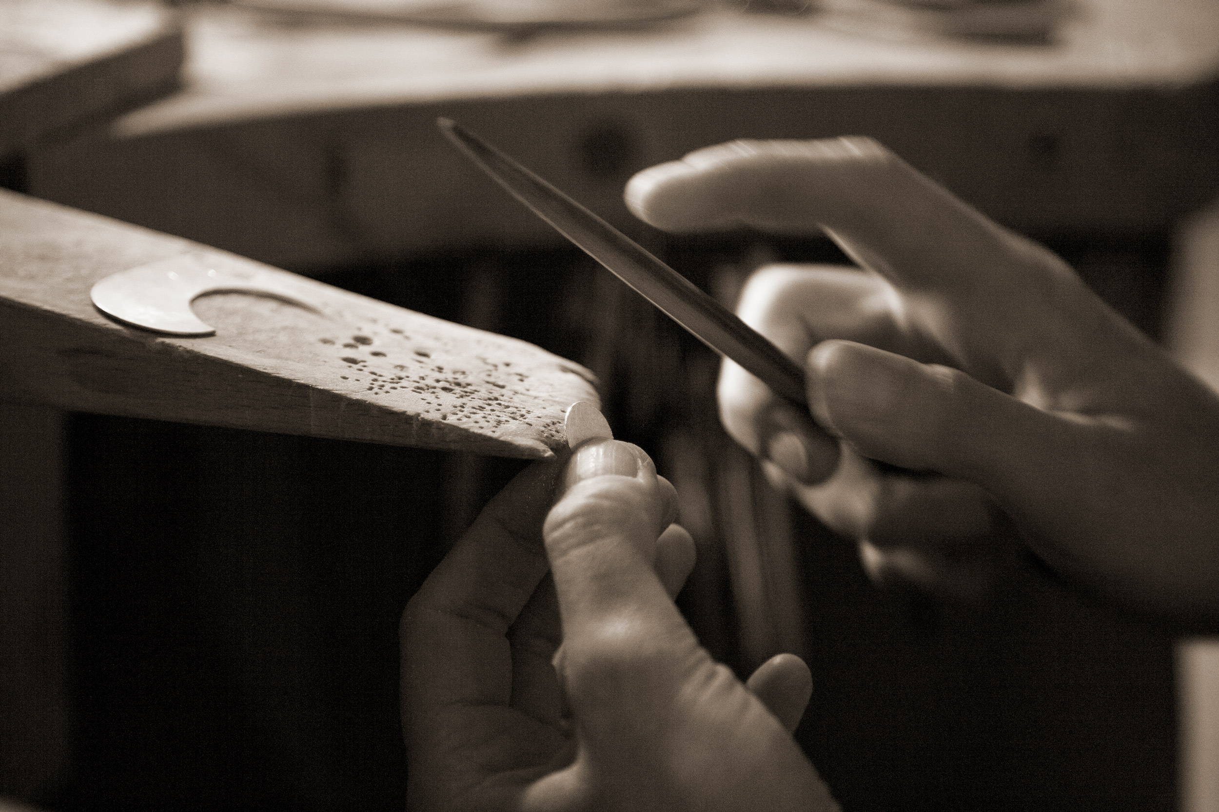 traditionelle Goldschmiedetechniken | Kathrin Dunst Goldschmiedin