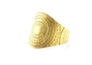 Ring in Feingold 999/-, punziert